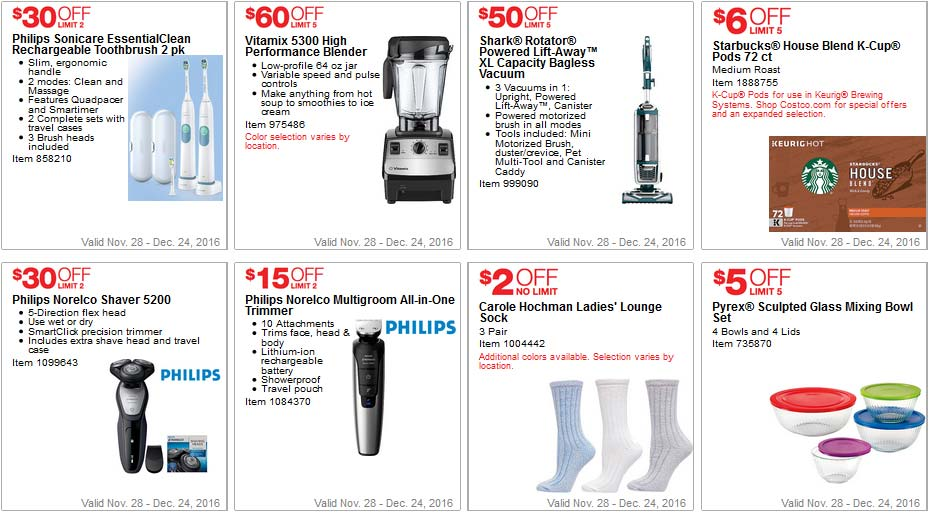 Costco Coupons December 2016 Page 3   Costco Insider