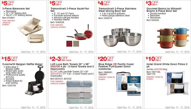 Costco Black Friday 2016 Week 1 Coupons Page 3