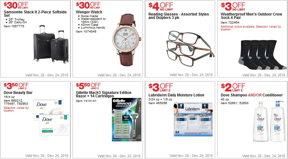 Costco Coupons December 2016 Page 4