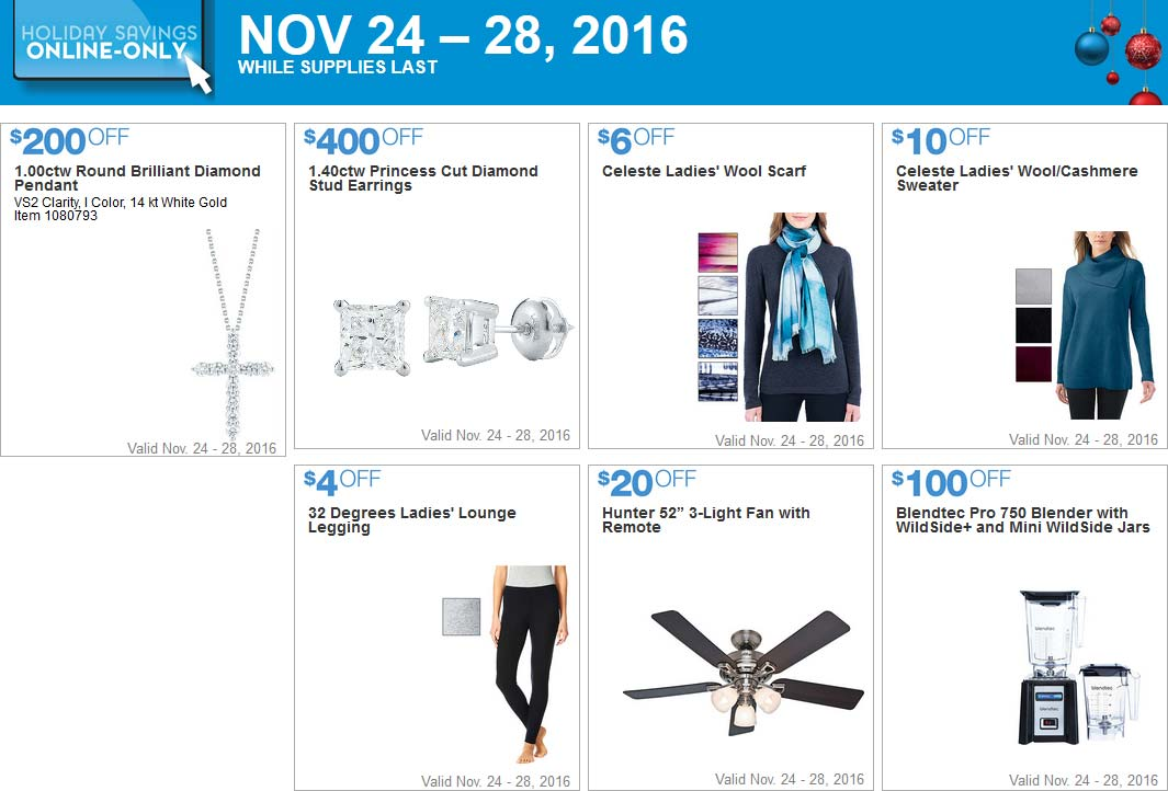 Costco Black Friday 2016 Weekend Coupons Page 5