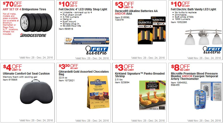 Costco Coupons December 2016 Page 5