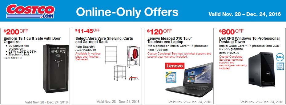 Costco Coupons December 2016 Page 7