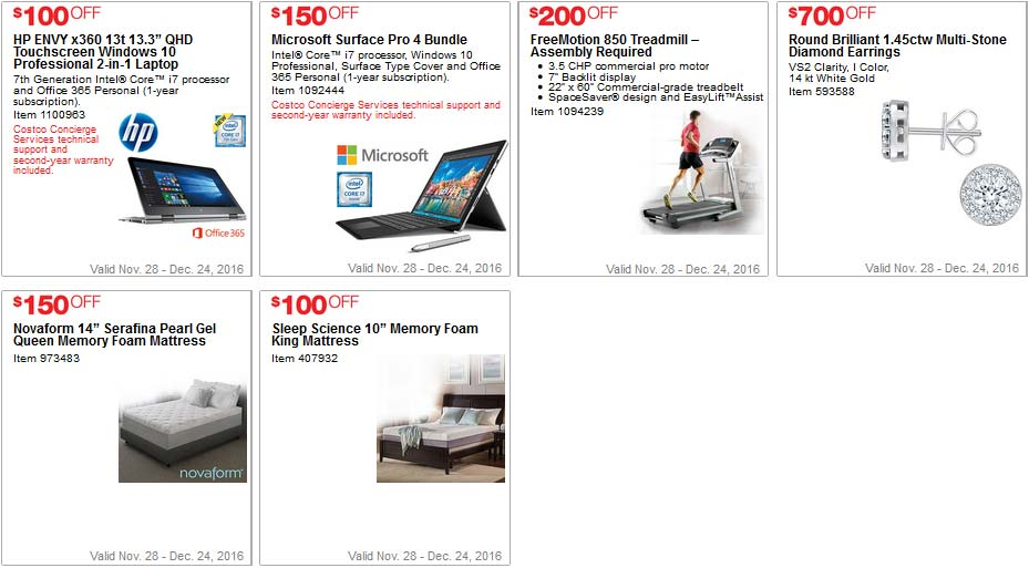 Costco Coupons December 2016 Page 8