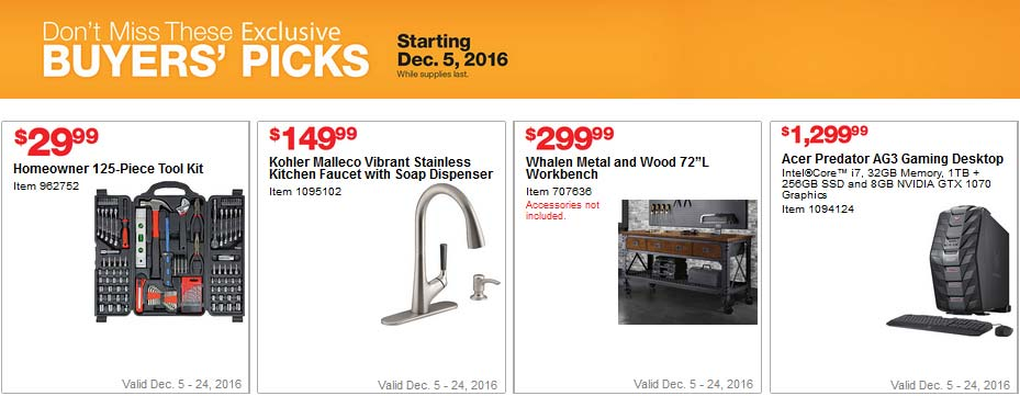 Costco Coupons December 2016 Page 9