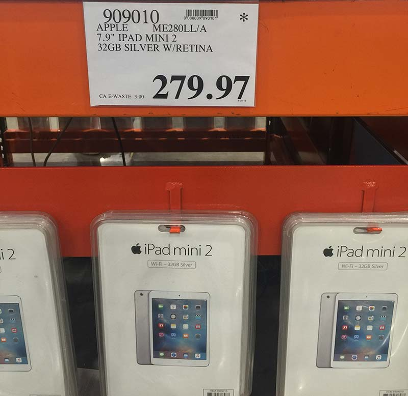 iPad Mini on Clearance