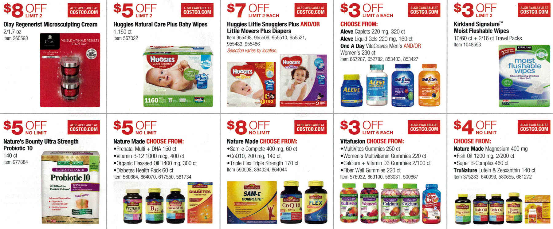 January 2017 Costco Coupon Book Page 10