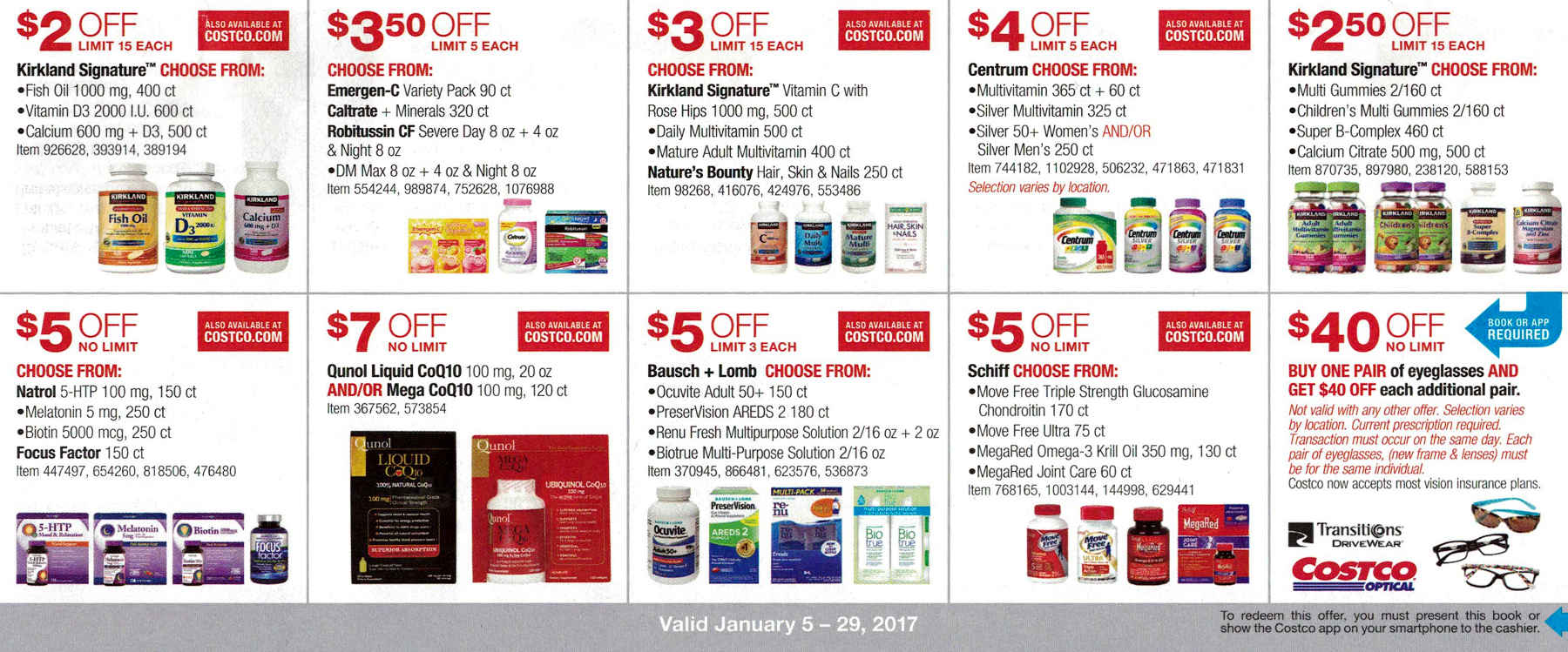 January 2017 Costco Coupon Book Page 11