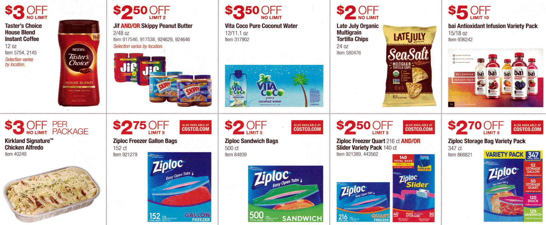 January 2017 Costco Coupon Book Page 6