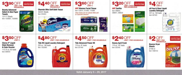 January 2017 Costco Coupon Book Page 7
