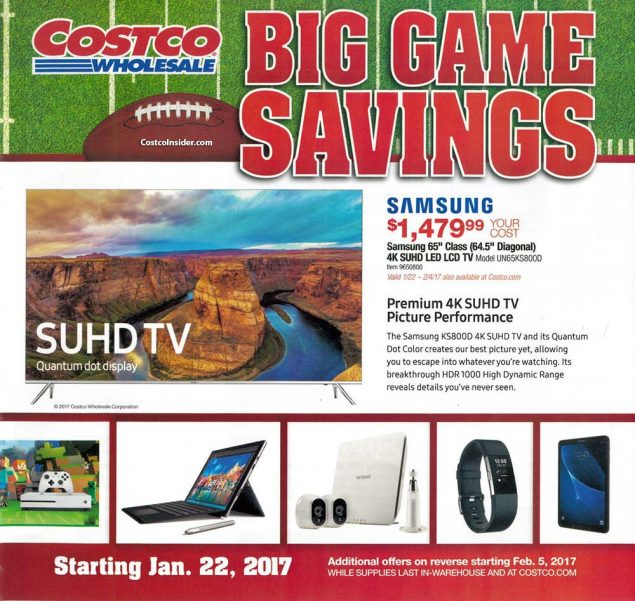 2017 Costco Super Bowl Ad Page 1