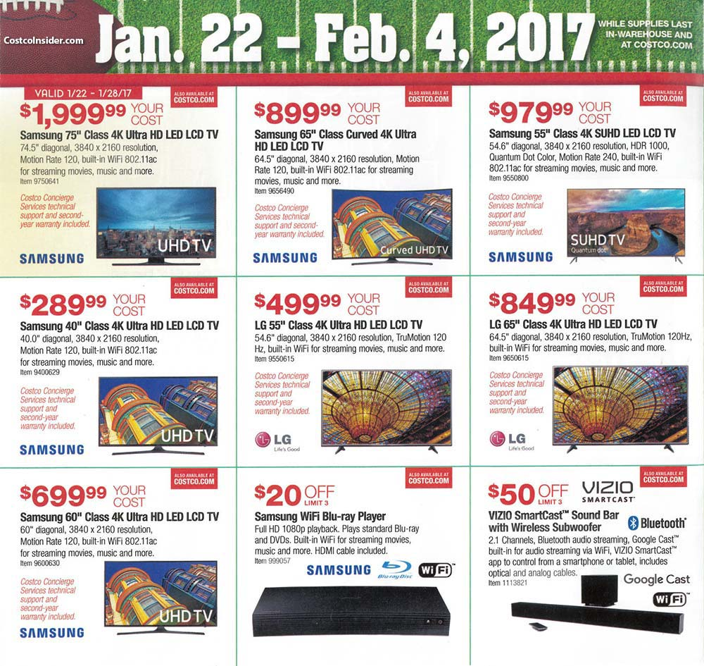 2017 Costco Super Bowl Ad Page 2