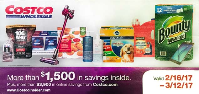 February costco coupon book