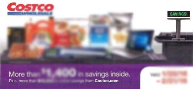 Coupon Book Blurred