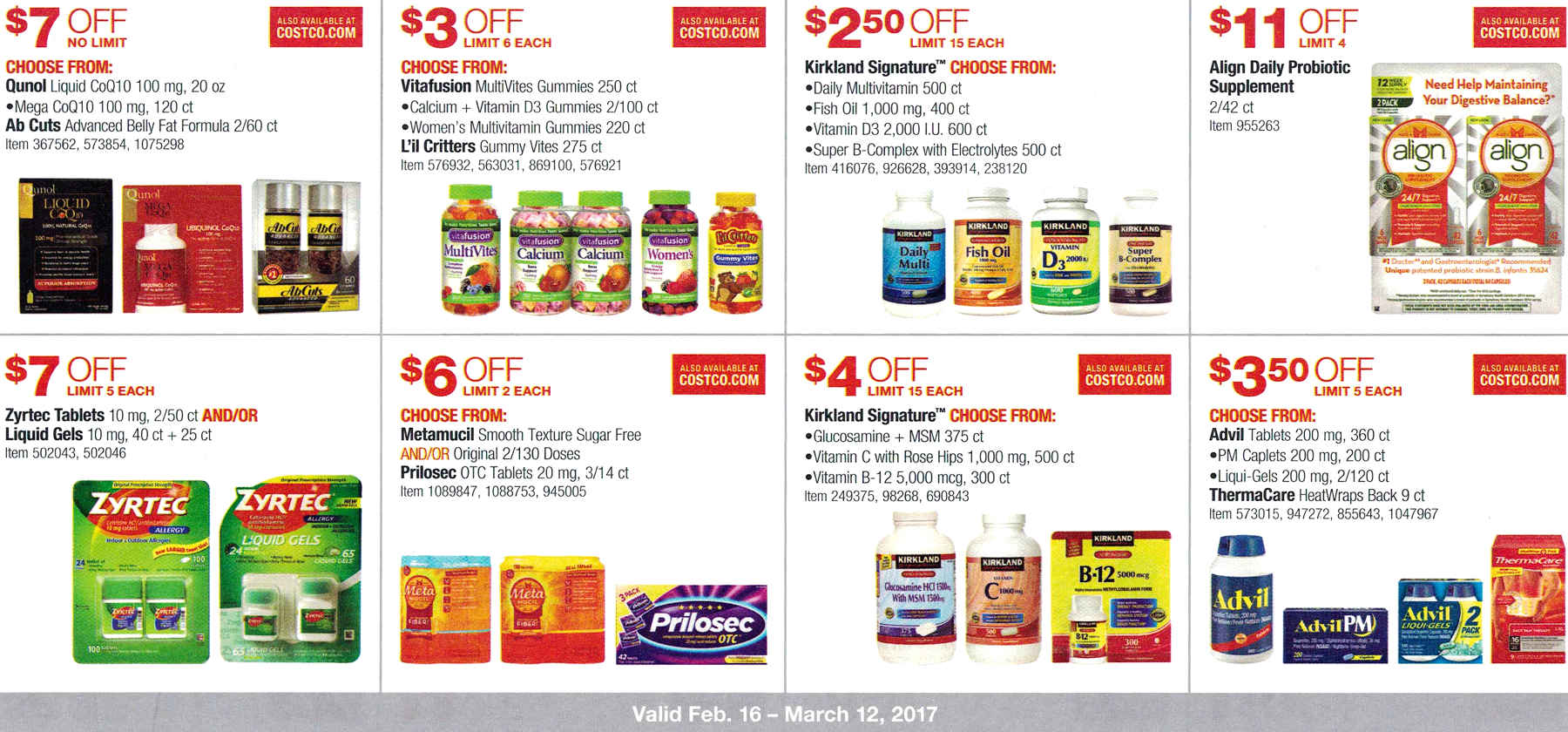 February 2017 Costco Coupon Book Page 11