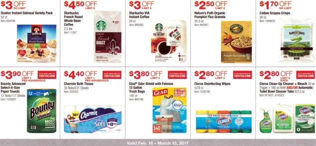 February 2017 Costco Coupon Book Page 7