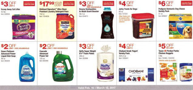 February 2017 Costco Coupon Book Page 9