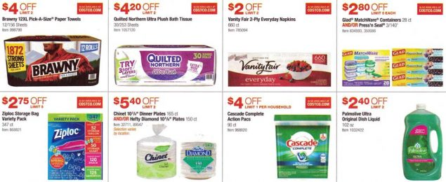 Costco March and April 2017 Coupon Book Page 10