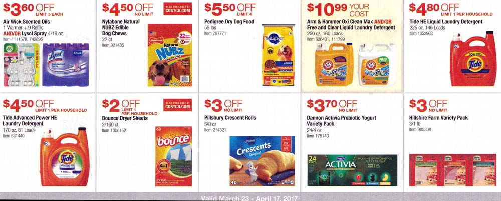 Costco March and April 2017 Coupon Book Page 11