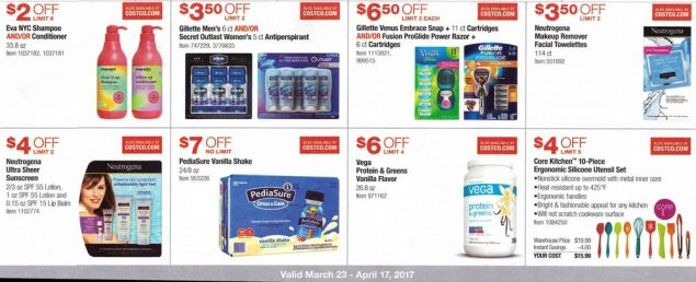Costco March and April 2017 Coupon Book Page 13