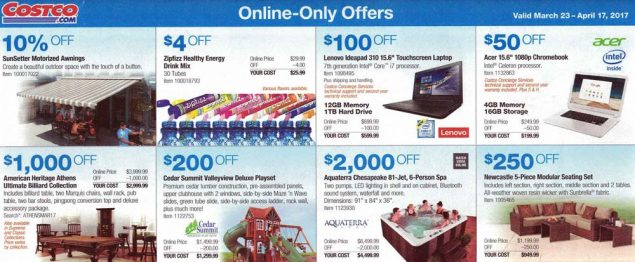 Costco March and April 2017 Coupon Book Page 17