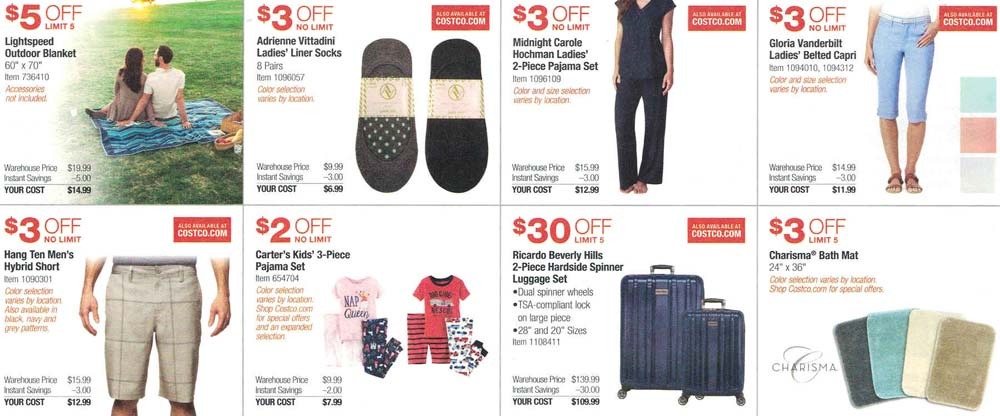 Costco March and April 2017 Coupon Book Page 4