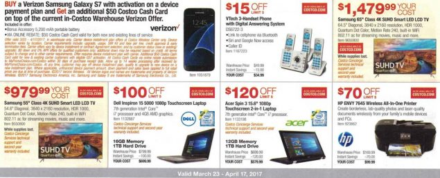 Costco March and April 2017 Coupon Book Page 5