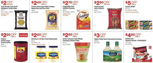 Costco March and April 2017 Coupon Book Page 8