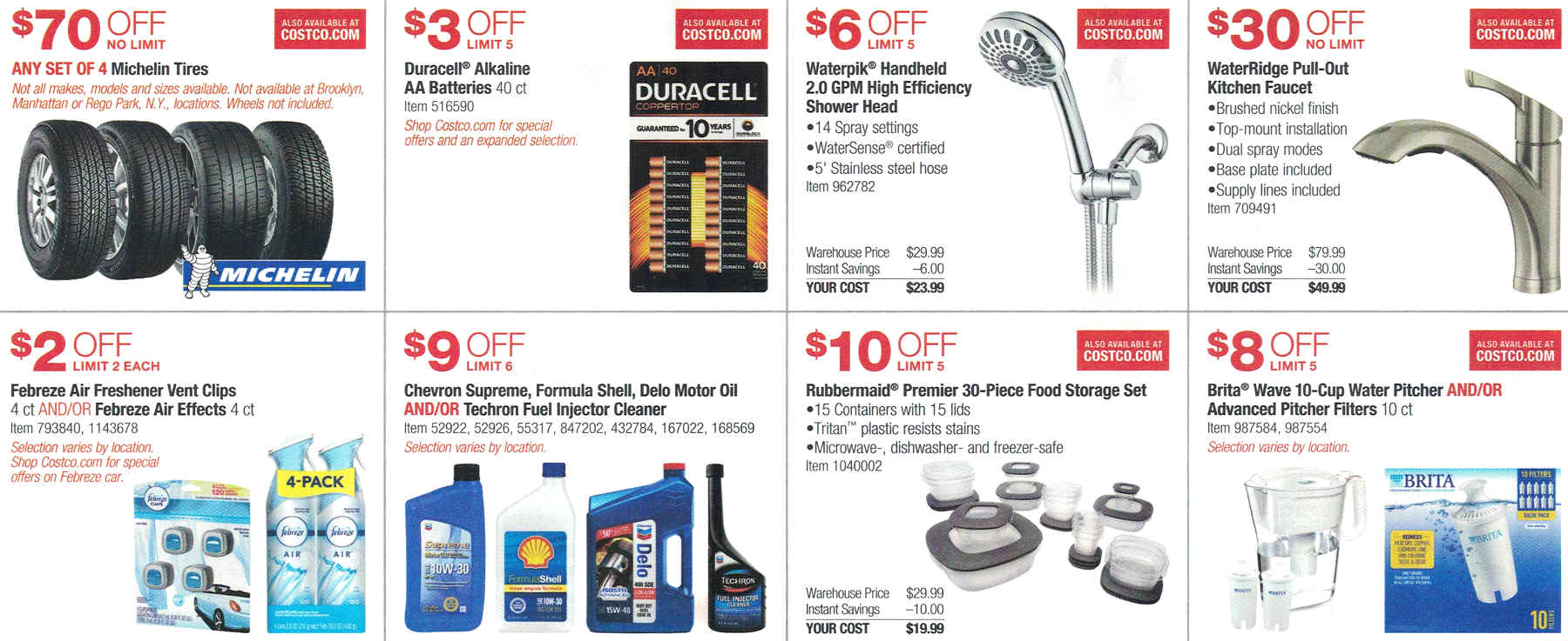 Costco May 2017 Coupon Book Page 6