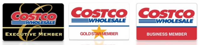 Costco Membership Cards