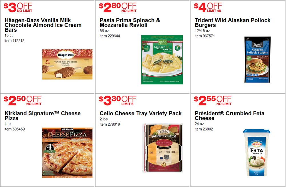 Fabulous June Costco Coupon Book Page