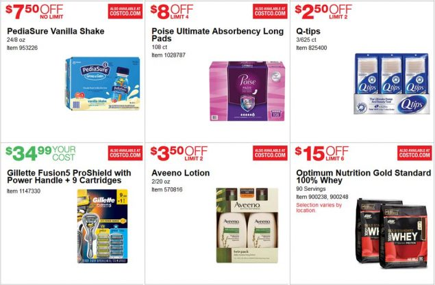 June 2017 Costco Coupon Book Page 19