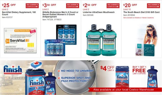 Costco August 2017 Coupon Book Page 15