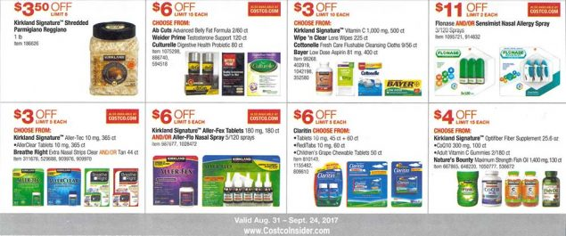 Costco September 2017 Coupon Book Page 17