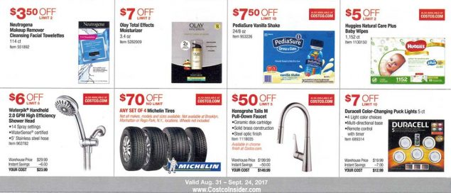 Costco September 2017 Coupon Book Page 7
