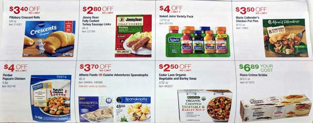 November 2017 Costco Coupon Book Cover
