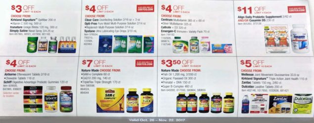Costco November 2017 Coupon Book Page 15