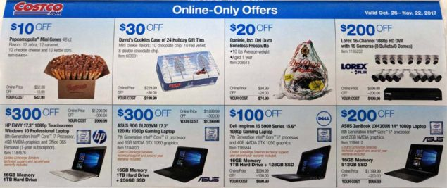 Costco November 2017 Coupon Book Page 16