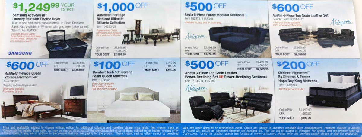 Costco November 2017 Coupon Book Page 17