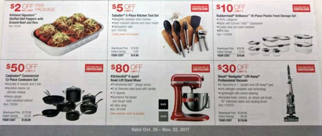 Costco November 2017 Coupon Book Page 6