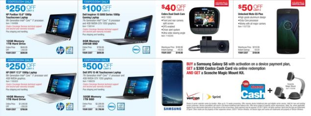 Costco Black Friday ad scan Week 2 Page 10