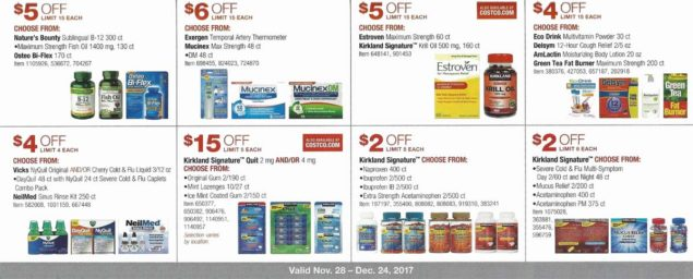 Costco December 2017 Coupon Book Page 13