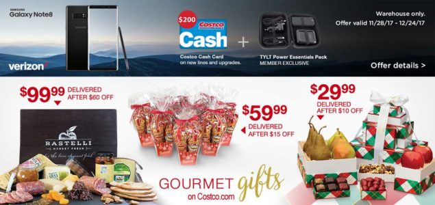 Costco December 2017 Coupon Book Page 2