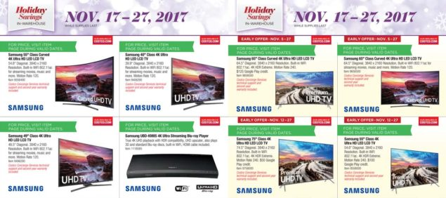 Costco Black Friday ad scan Week 2 Page 5