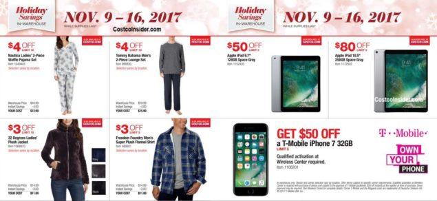 Costco 2017 Black Friday Ad Scan Page 5