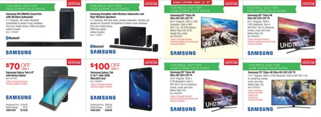 Costco Black Friday ad scan Week 2 Page 6