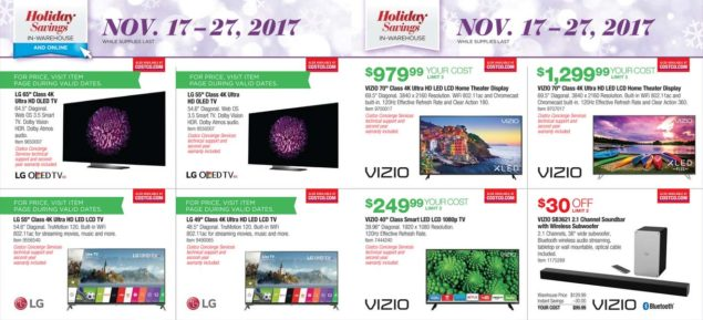 Costco Black Friday ad scan Week 2 Page 7