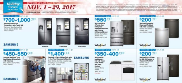Costco 2017 Black Friday Ad Scan Page 7