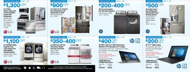 Costco 2017 Black Friday Ad Scan Page 8