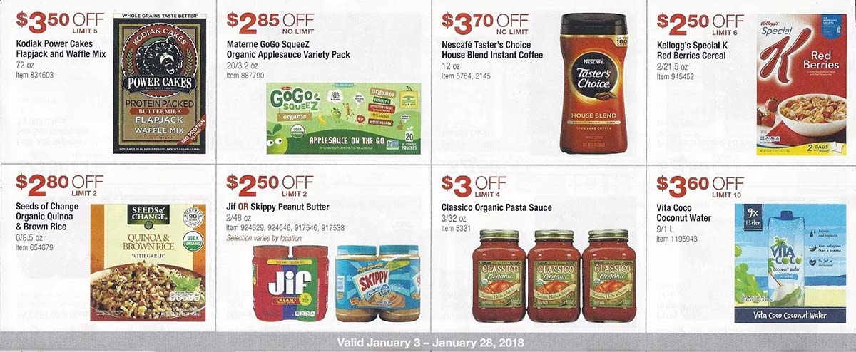 Costco uk coupon book jan 2018