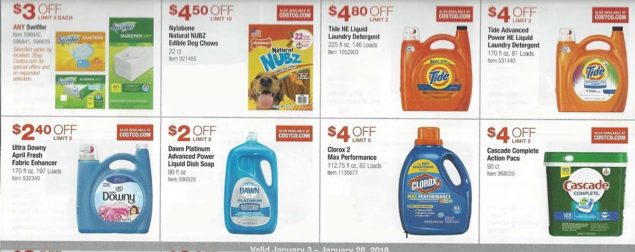 January 2018 Costco Coupon Book Page 13